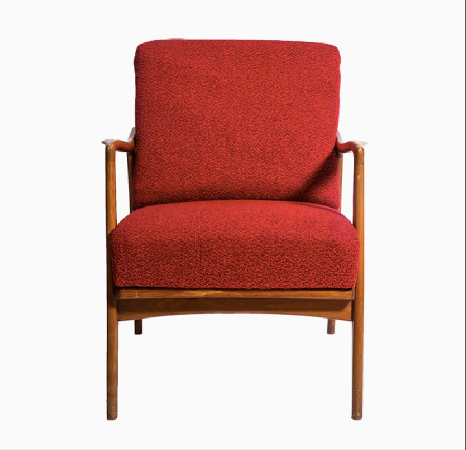 Red Armchair 1960s
