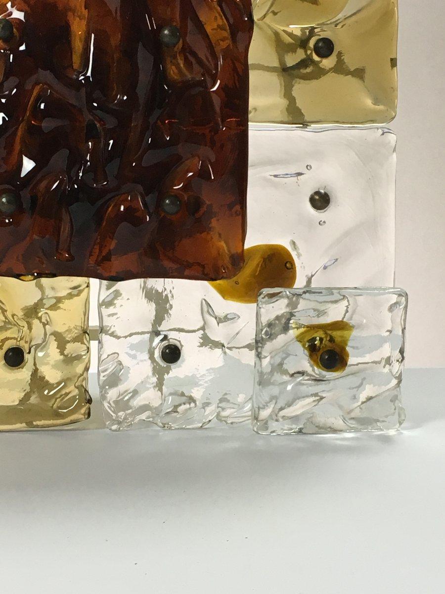 applique patchwork en verre murano de venini italie 1960s en vente sur pamono. Black Bedroom Furniture Sets. Home Design Ideas