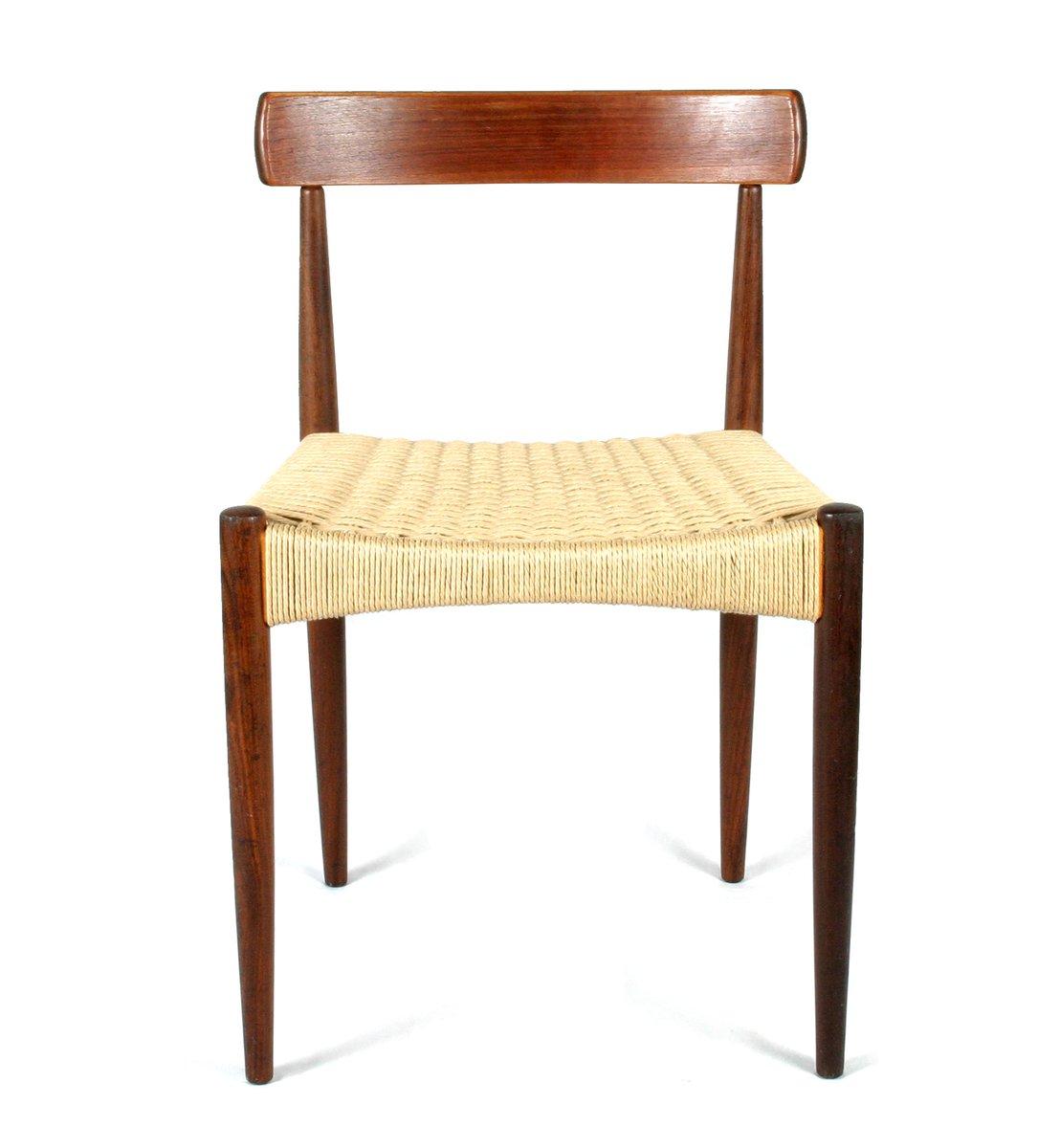 skandinavischer mid century stuhl von arne hovmand olsen f r mogens kold bei pamono kaufen. Black Bedroom Furniture Sets. Home Design Ideas