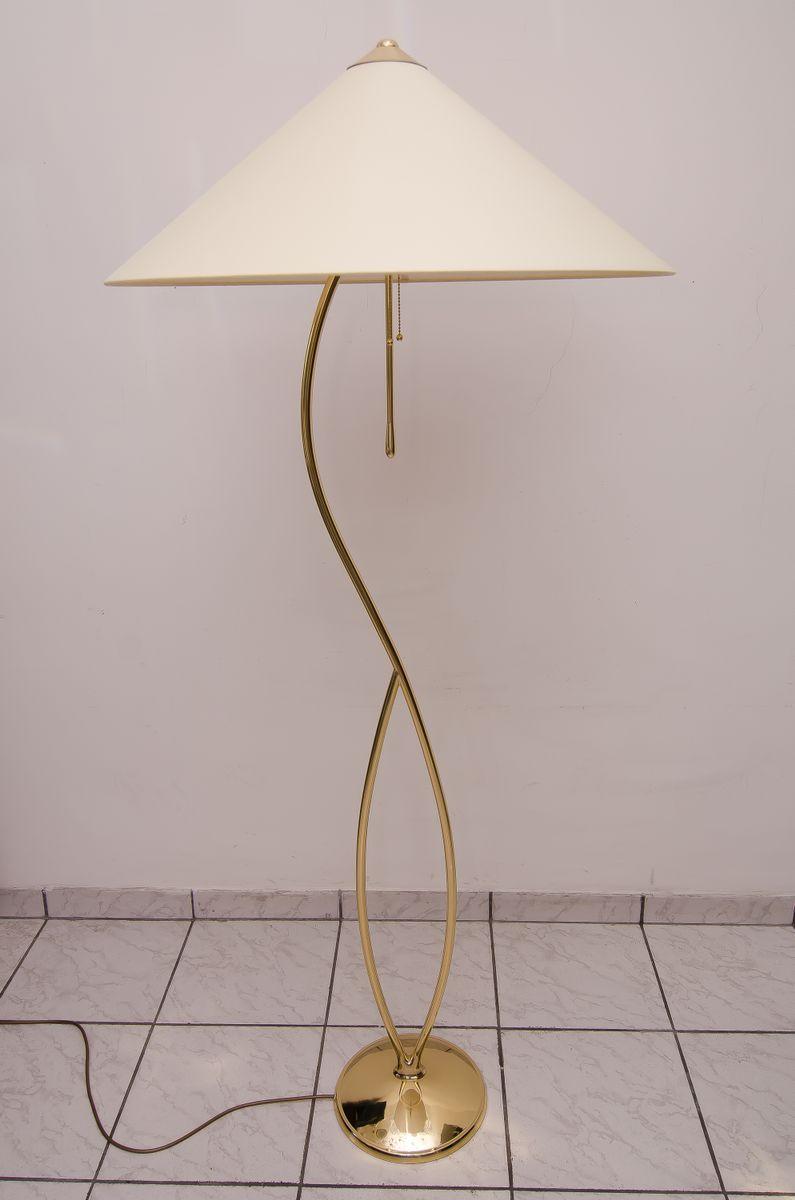 Schwenkbare Stehlampe, 1950er