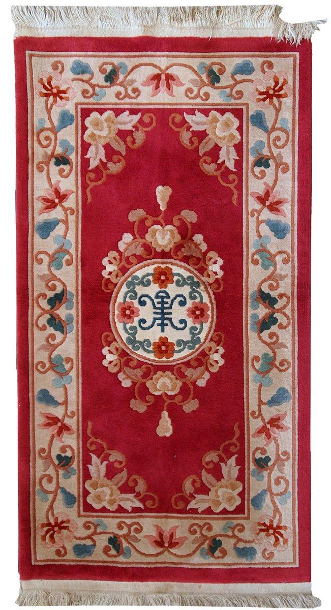 Handgemachter chinesischer vintage art deco teppich - Art deco teppich ...