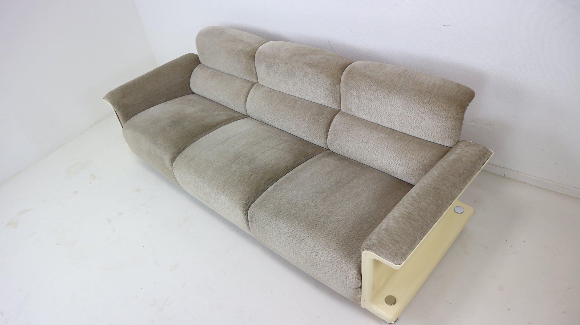 canap trois places bz29 par gerd lange pour t 39 spectrum 1970s en vente sur pamono. Black Bedroom Furniture Sets. Home Design Ideas