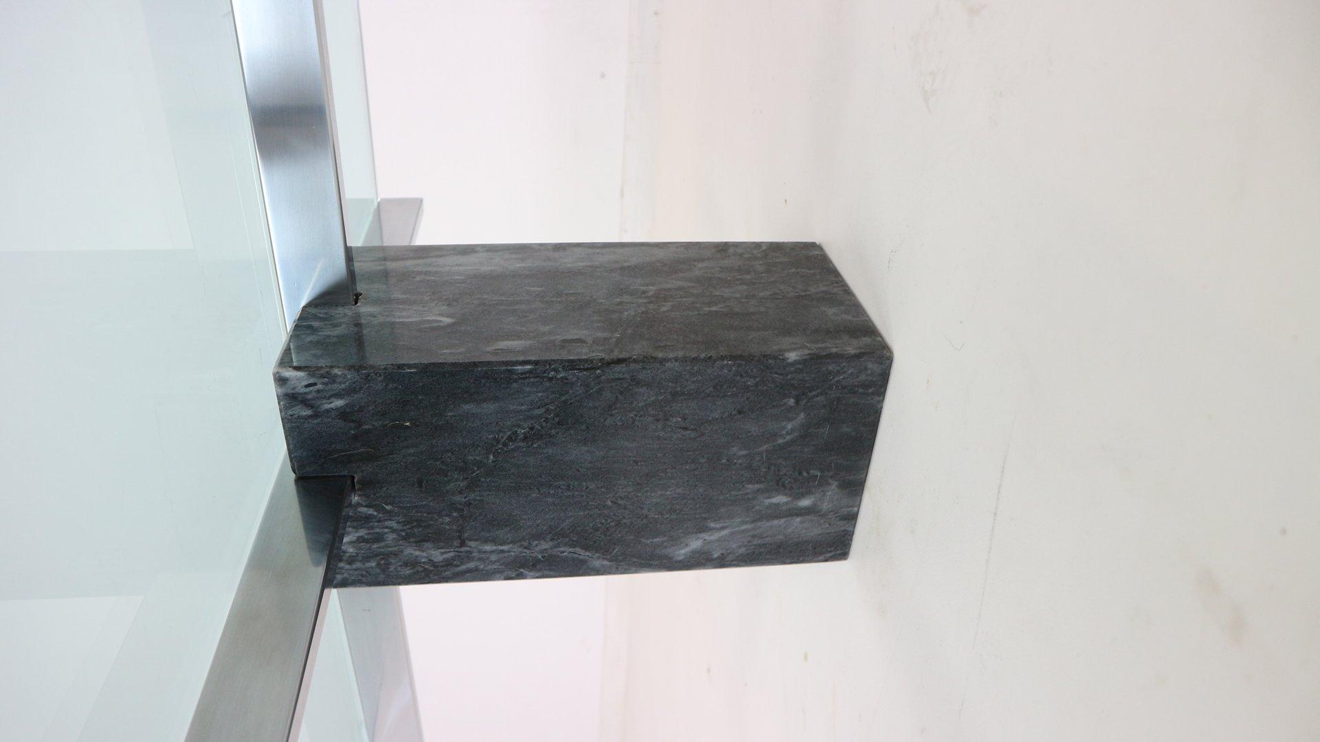 moderner italienischer couchtisch aus marmor glas 1970er bei pamono kaufen. Black Bedroom Furniture Sets. Home Design Ideas