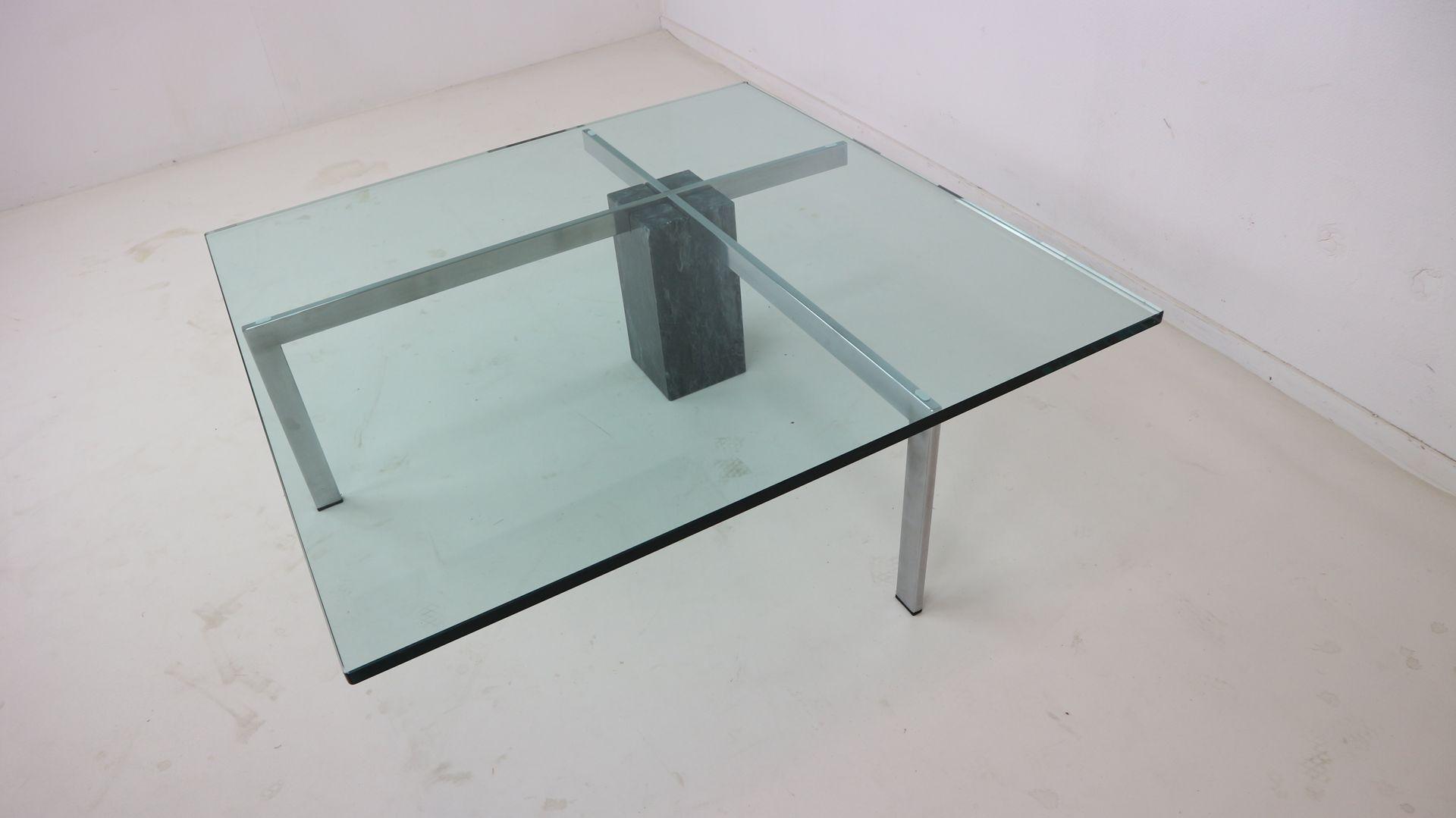 table basse moderniste en marbre et verre italie 1970s en vente sur pamono. Black Bedroom Furniture Sets. Home Design Ideas
