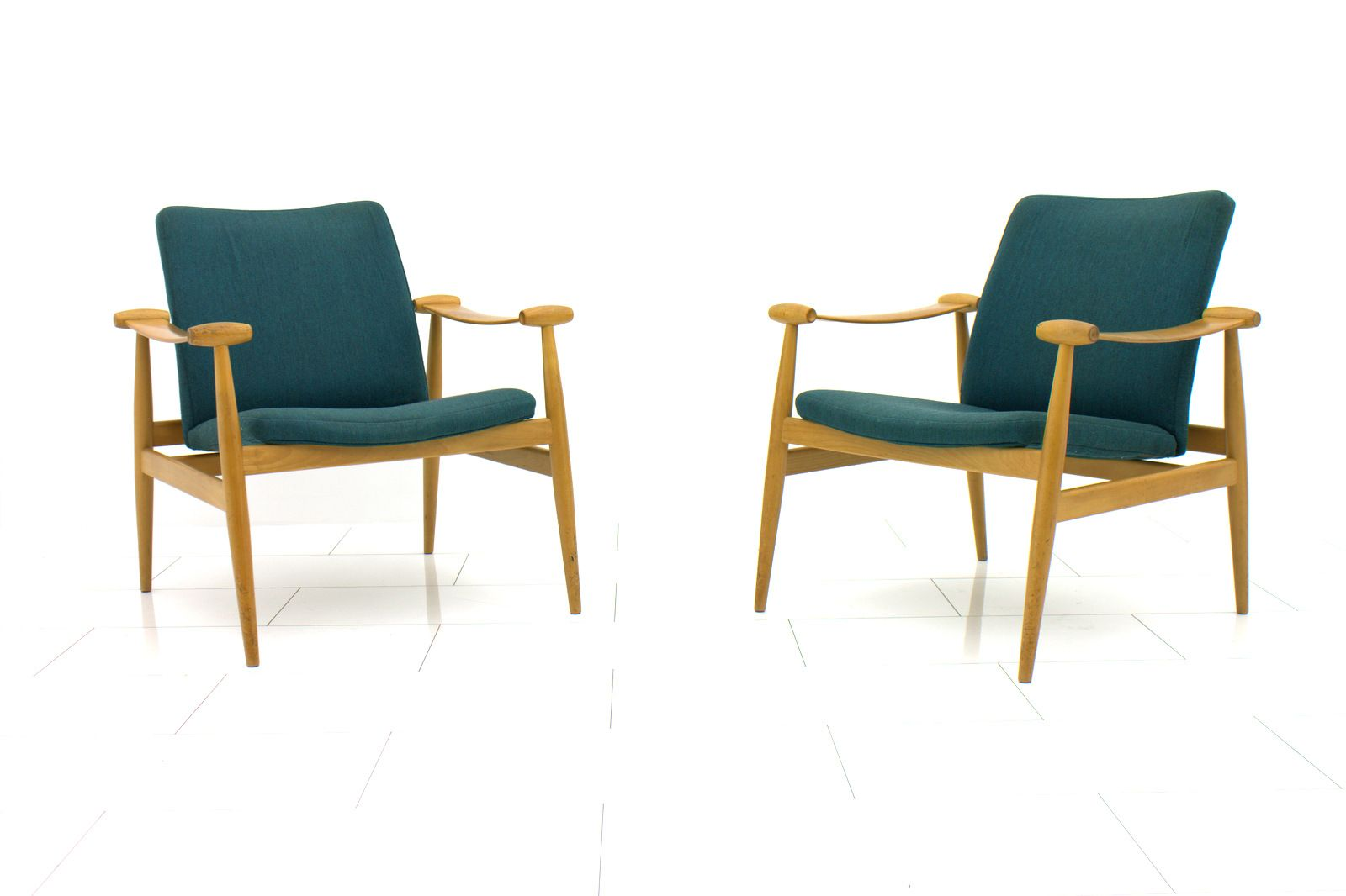 FD 133 Spade Stühle von Finn Juhl für France & Søn, 1960er, 2er Set