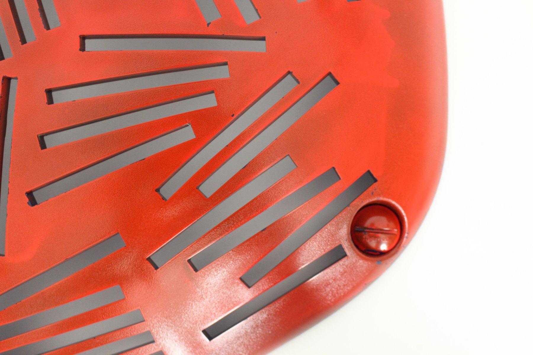 porte cd mural vintage par enzo calabrese pour guzzini en vente sur pamono. Black Bedroom Furniture Sets. Home Design Ideas