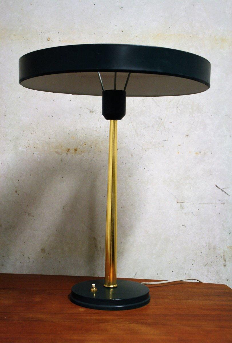 gr ne timor lampe von louis kalff f r philips 1950er bei pamono kaufen. Black Bedroom Furniture Sets. Home Design Ideas