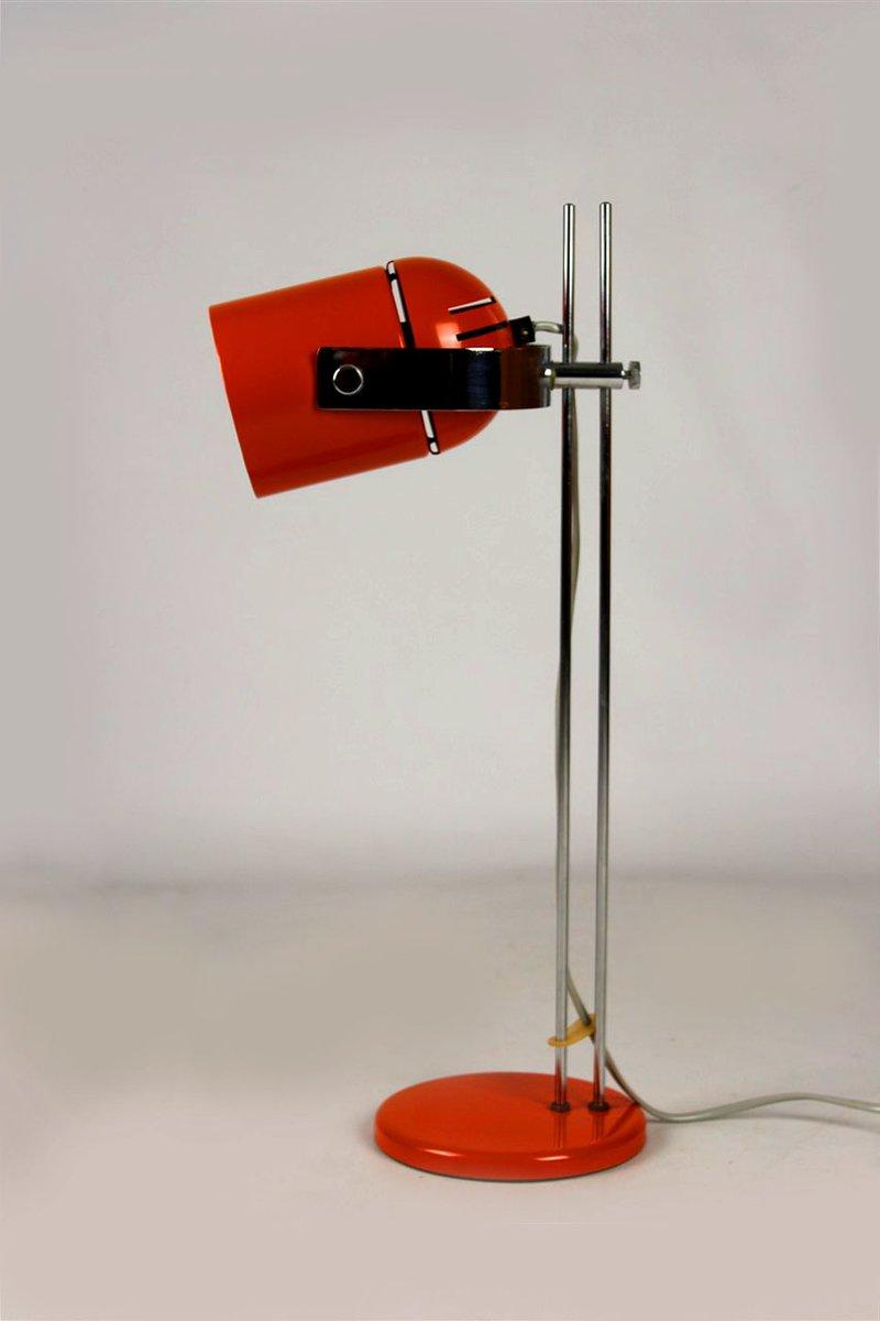 Orange Tischlampe von Stanislav Indra, 1970er