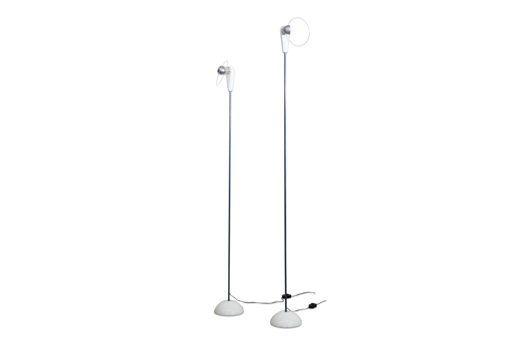 Lampade da terra bip bip vintage di achille castiglioni for Saldi lampade design