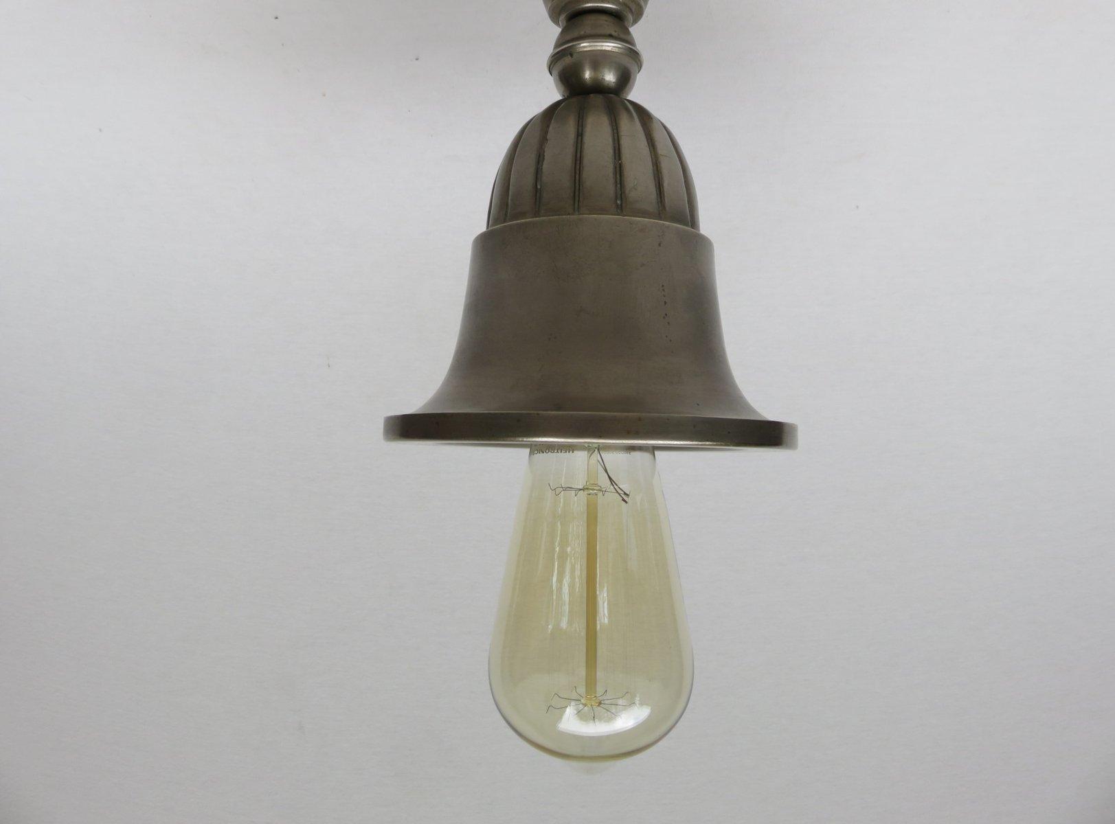 Antike Jugendstil Deckenlampen, 10er Set