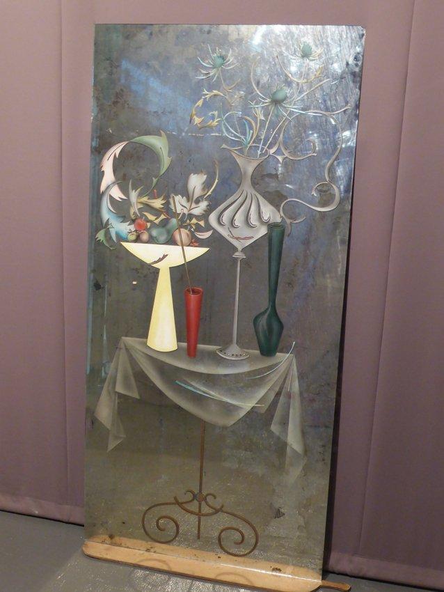 spiegel mit geschnitztem rahmen aus 20 jhdt bei pamono kaufen. Black Bedroom Furniture Sets. Home Design Ideas