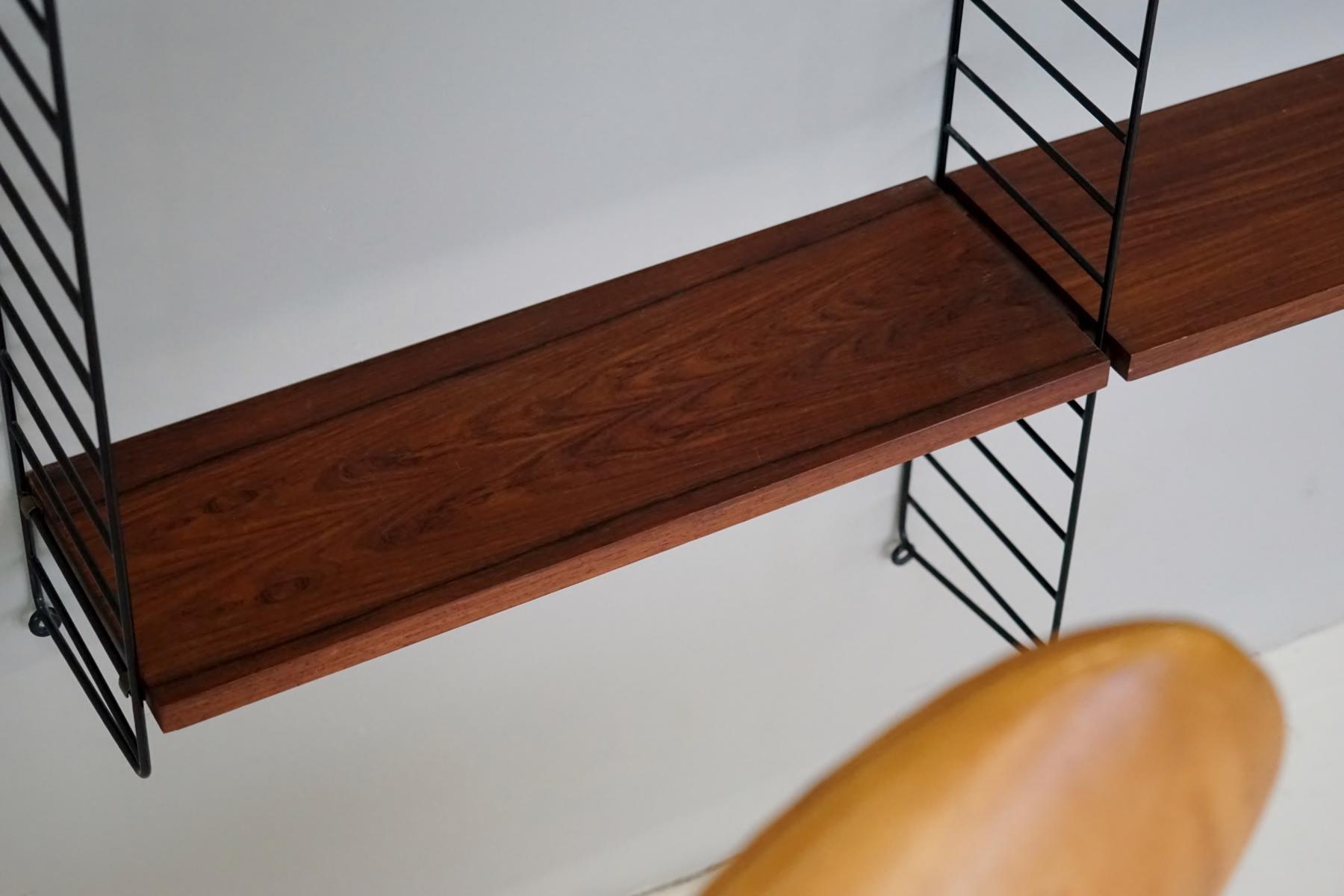 vintage string regal von nisse strinning f r string 1960er bei pamono kaufen. Black Bedroom Furniture Sets. Home Design Ideas