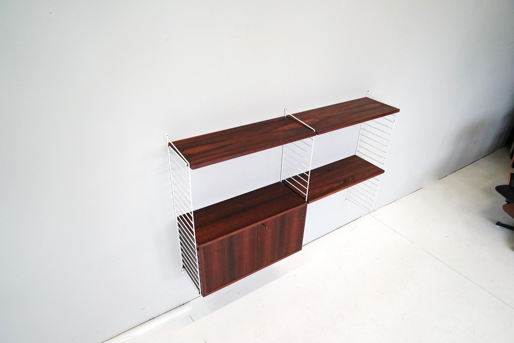 Design String Kasten : Palisander regal von kajsa nils strinning für string er bei