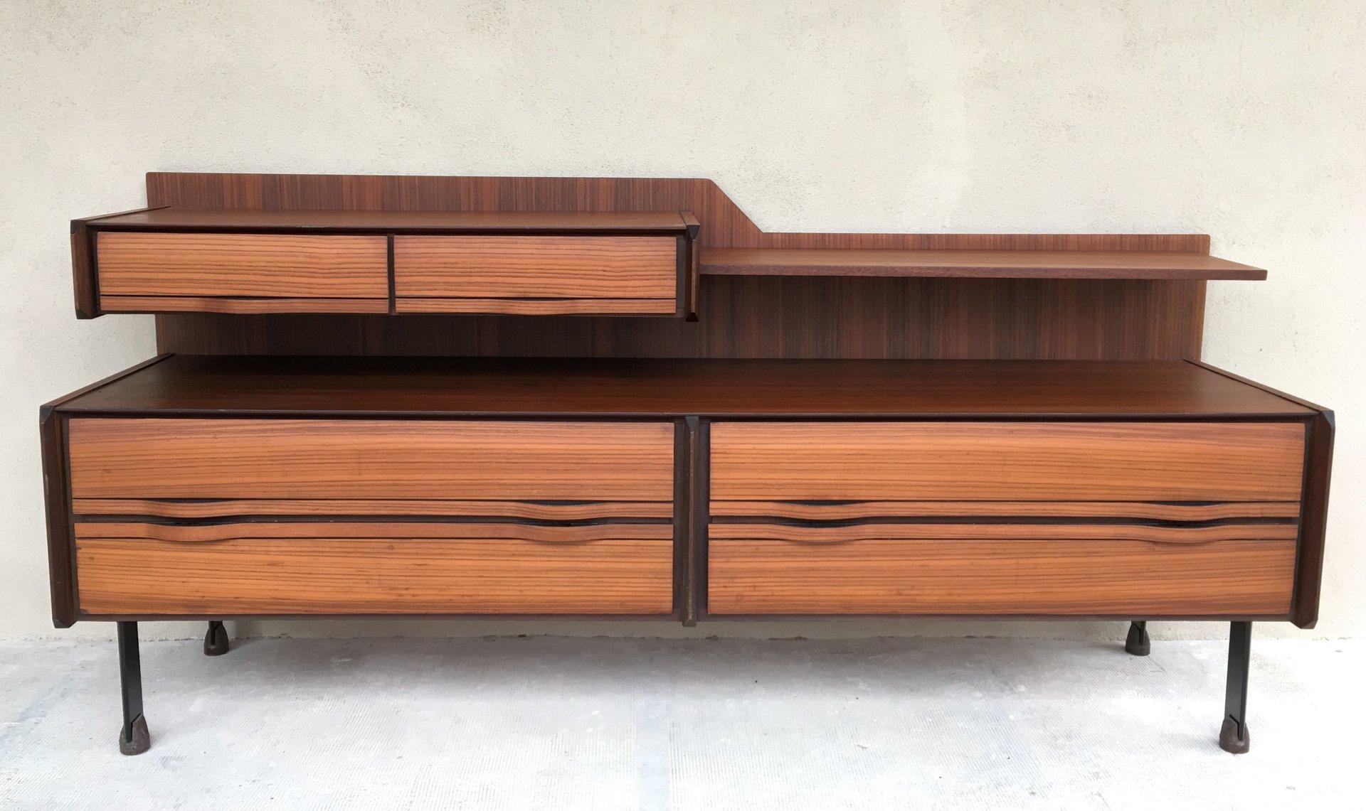 La Credenza Mobile : Credenza mid century di la sorgente dei mobili arosio italia