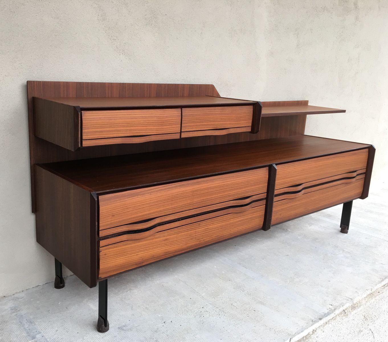 Credenza mid century di la sorgente dei mobili arosio italia anni 39 60 in vendita su pamono - Mobili vintage anni 60 ...