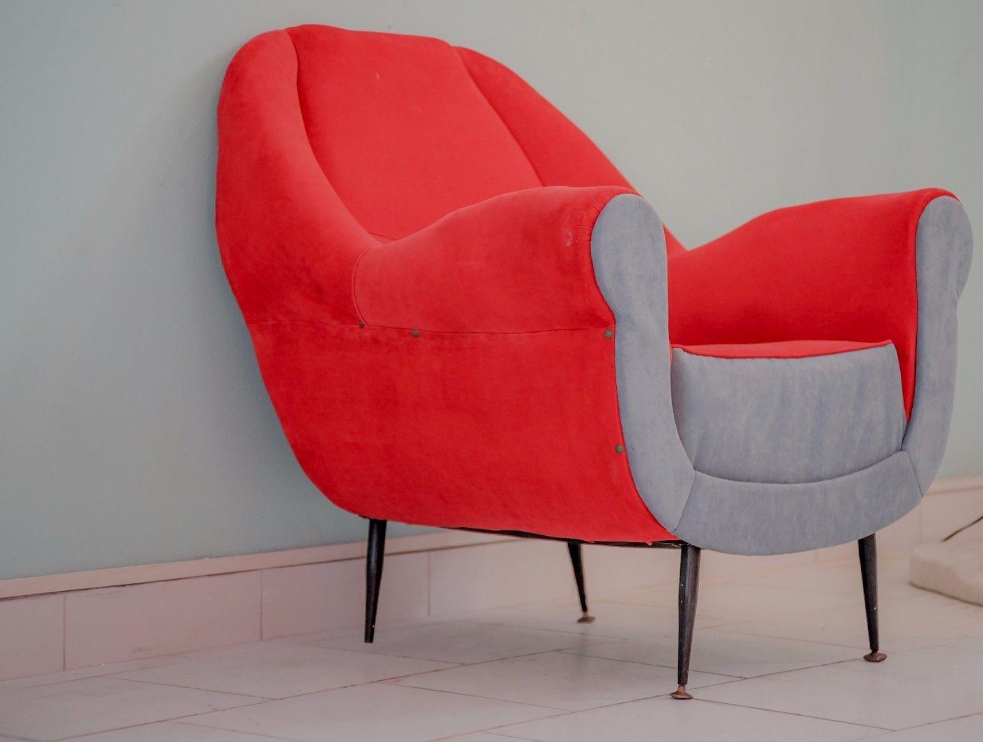 Vintage Sessel von Gigi Radice für Minotti
