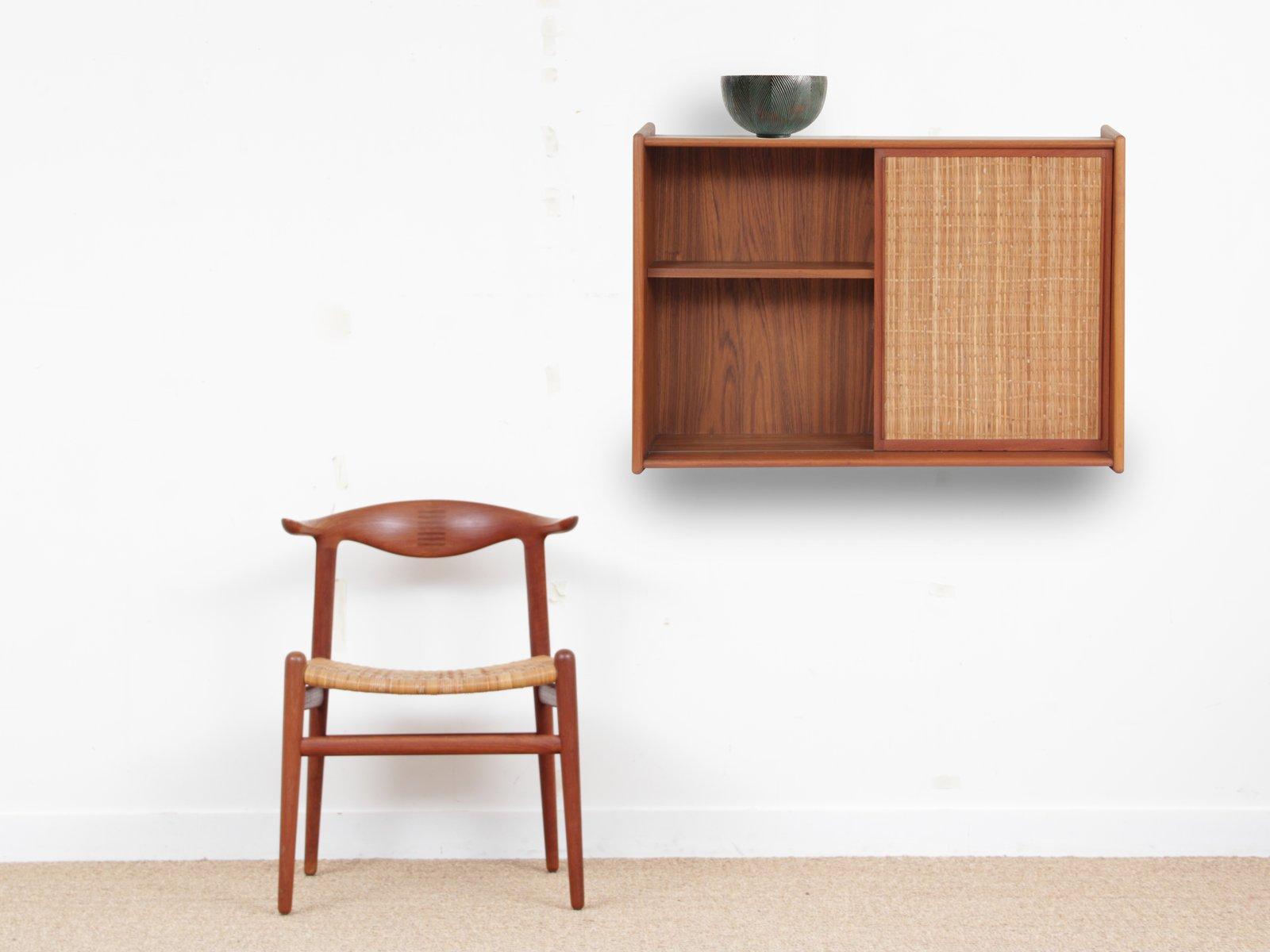 Mid-Century Modern Scandinavian Bathroom Cabinet in Teak for sale at ...