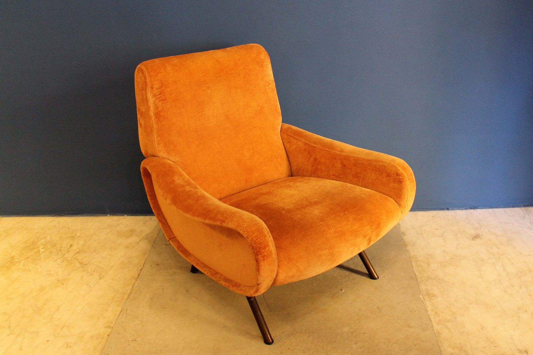 mid century lady sessel von marco zanuso f r arflex bei pamono kaufen. Black Bedroom Furniture Sets. Home Design Ideas