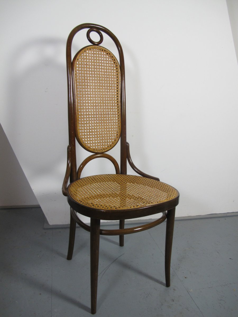 Antique Bentwood Nr 17 Dinner Chairs By Thonet Set Of 4
