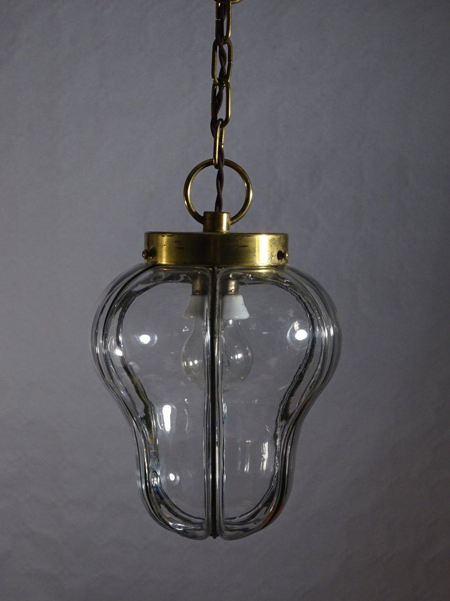Unglaublich Messing Deckenlampe Foto Von Neoklassizistische Aus Glas &