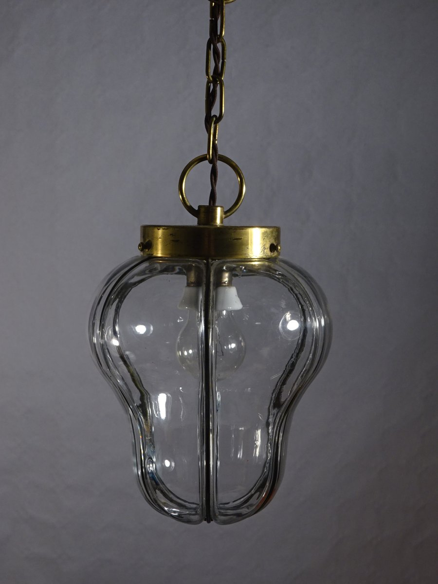 neoklassizistische deckenlampe aus glas messing mobile. Black Bedroom Furniture Sets. Home Design Ideas