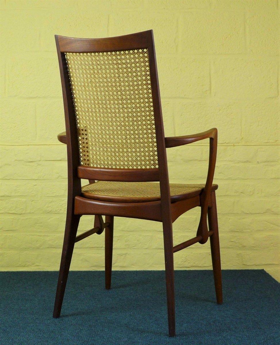 d nischer vintage stuhl von niels koefoed f r hornslet bei pamono kaufen. Black Bedroom Furniture Sets. Home Design Ideas