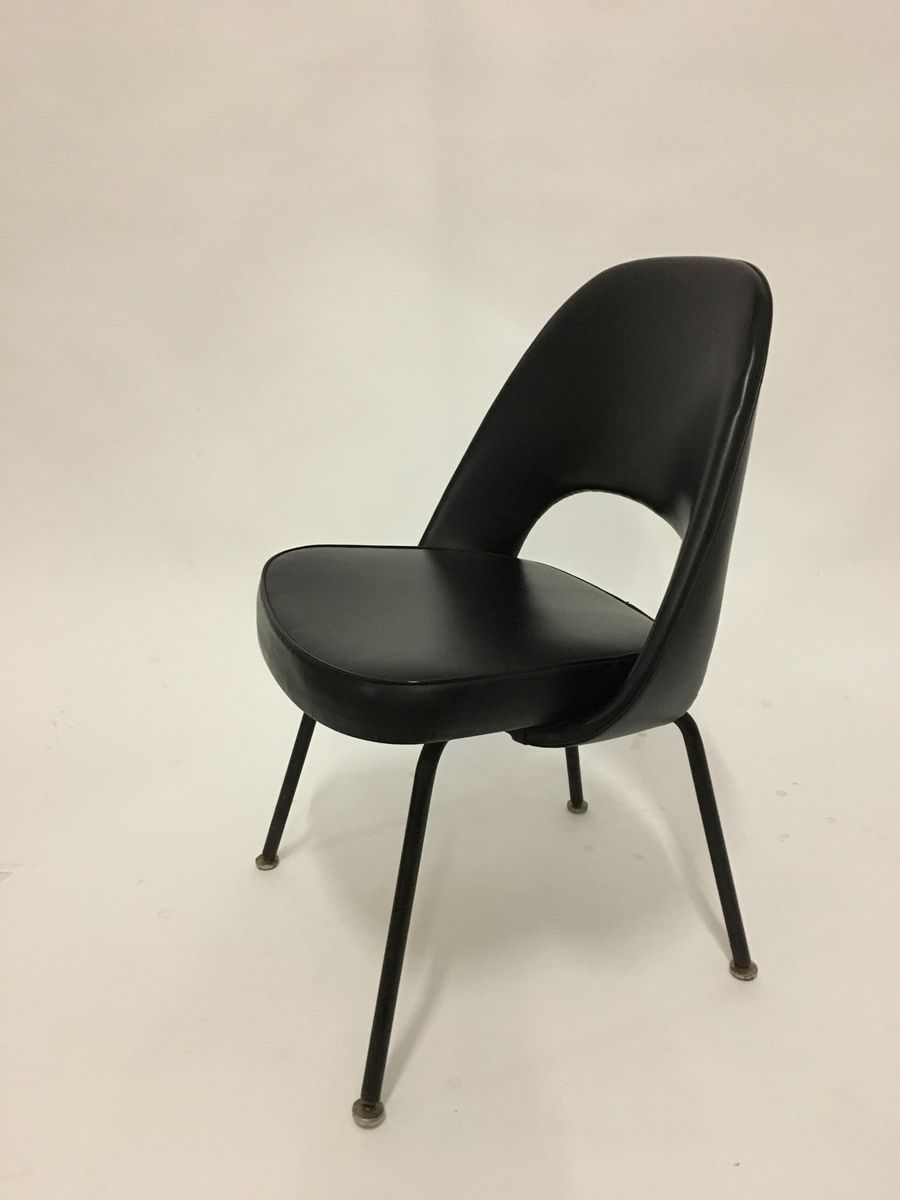 fauteuil de direction mid century par eero saarinen pour knoll en vente sur pamono. Black Bedroom Furniture Sets. Home Design Ideas