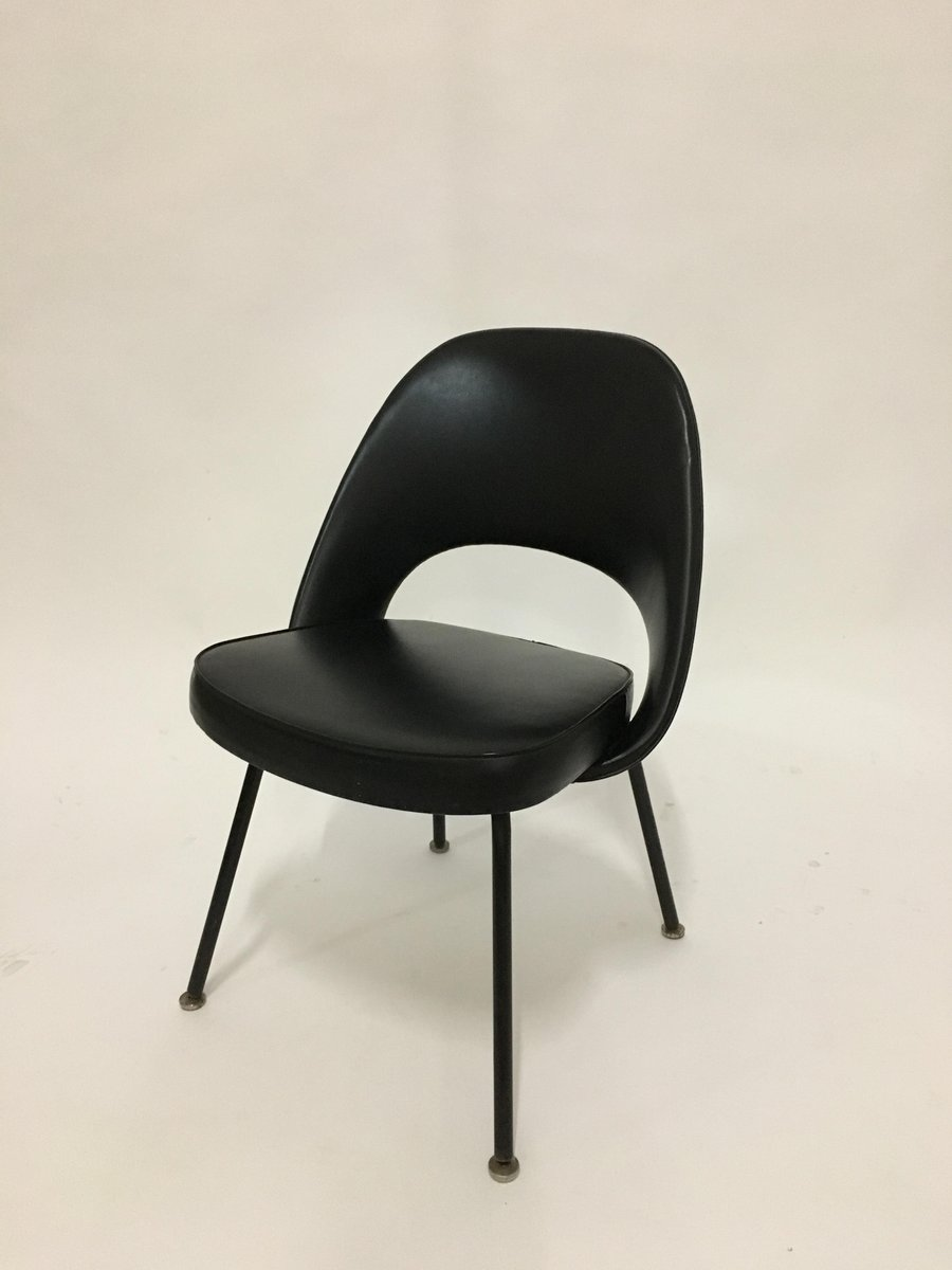 mid century executive stuhl von eero saarinen f r knoll bei pamono kaufen. Black Bedroom Furniture Sets. Home Design Ideas