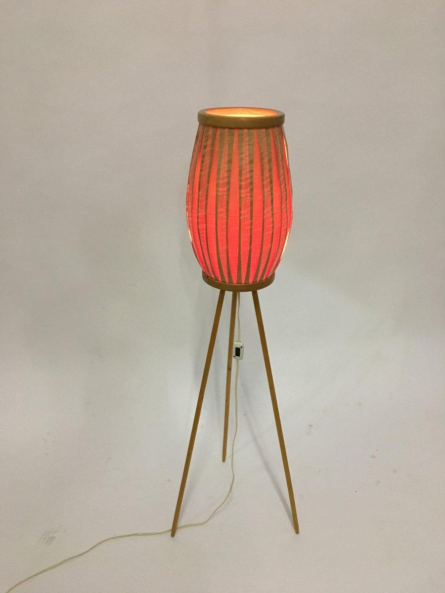 Mid Century Stehlampe Von Ustredni Lidove Umelecke Vyroby Bei Pamono