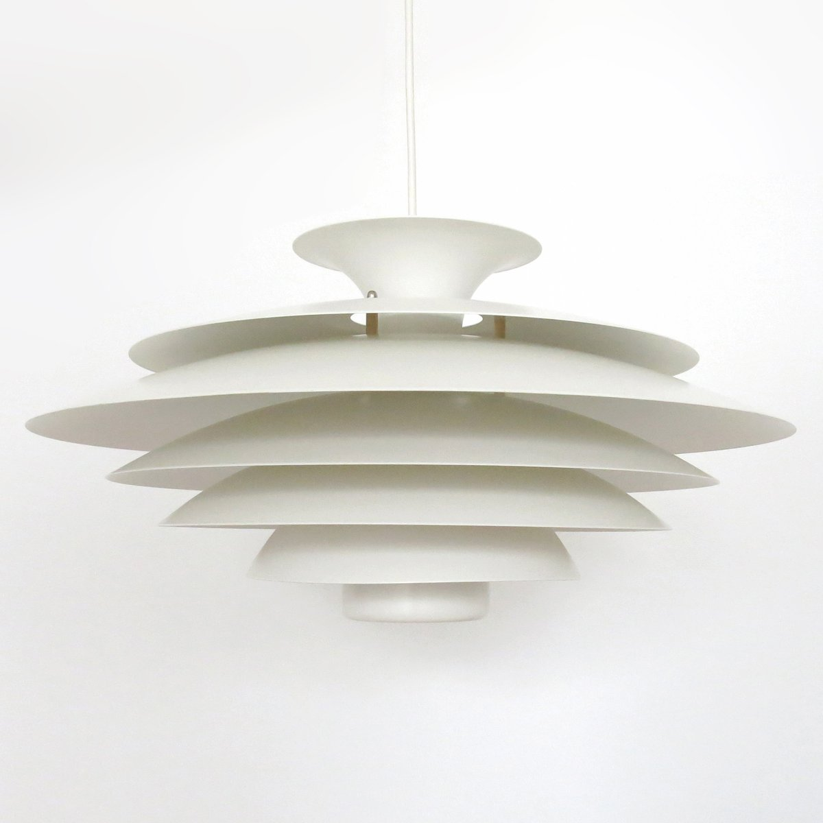 Danish Modern Layered Pendant Lamp From Formlight 1960s