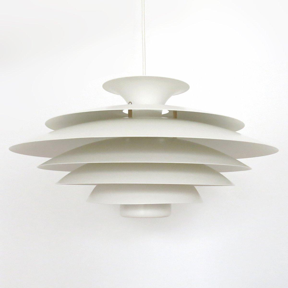 Gestufte Danish Modern Hängelampe von Formlight, 1960er