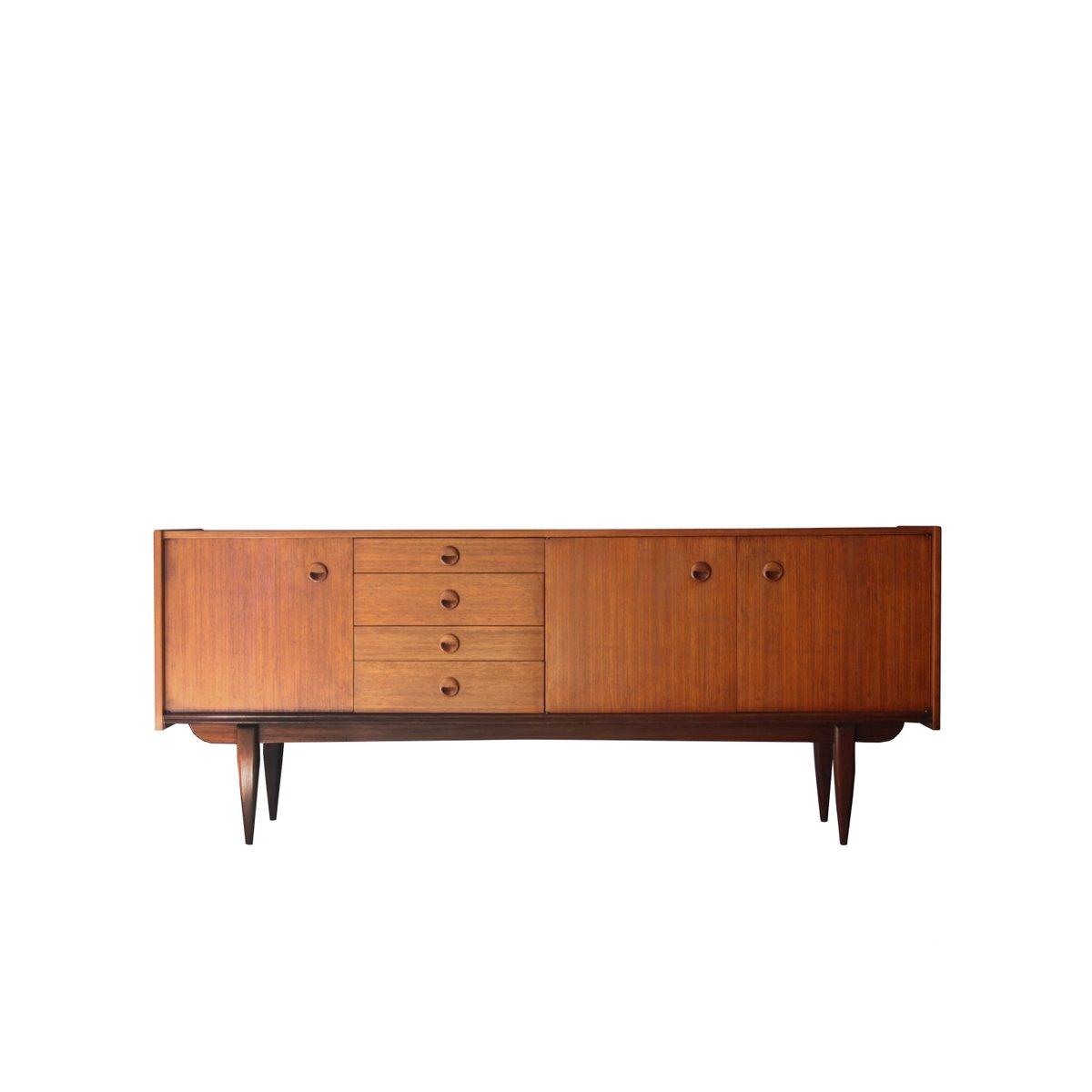 Walnuss Furnier Sideboard, 1950er