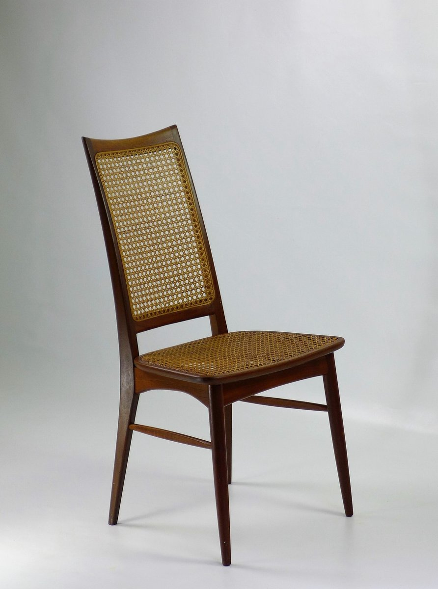 chaise scandinave vintage par niels koefoed pour hornslet en vente sur pamono. Black Bedroom Furniture Sets. Home Design Ideas