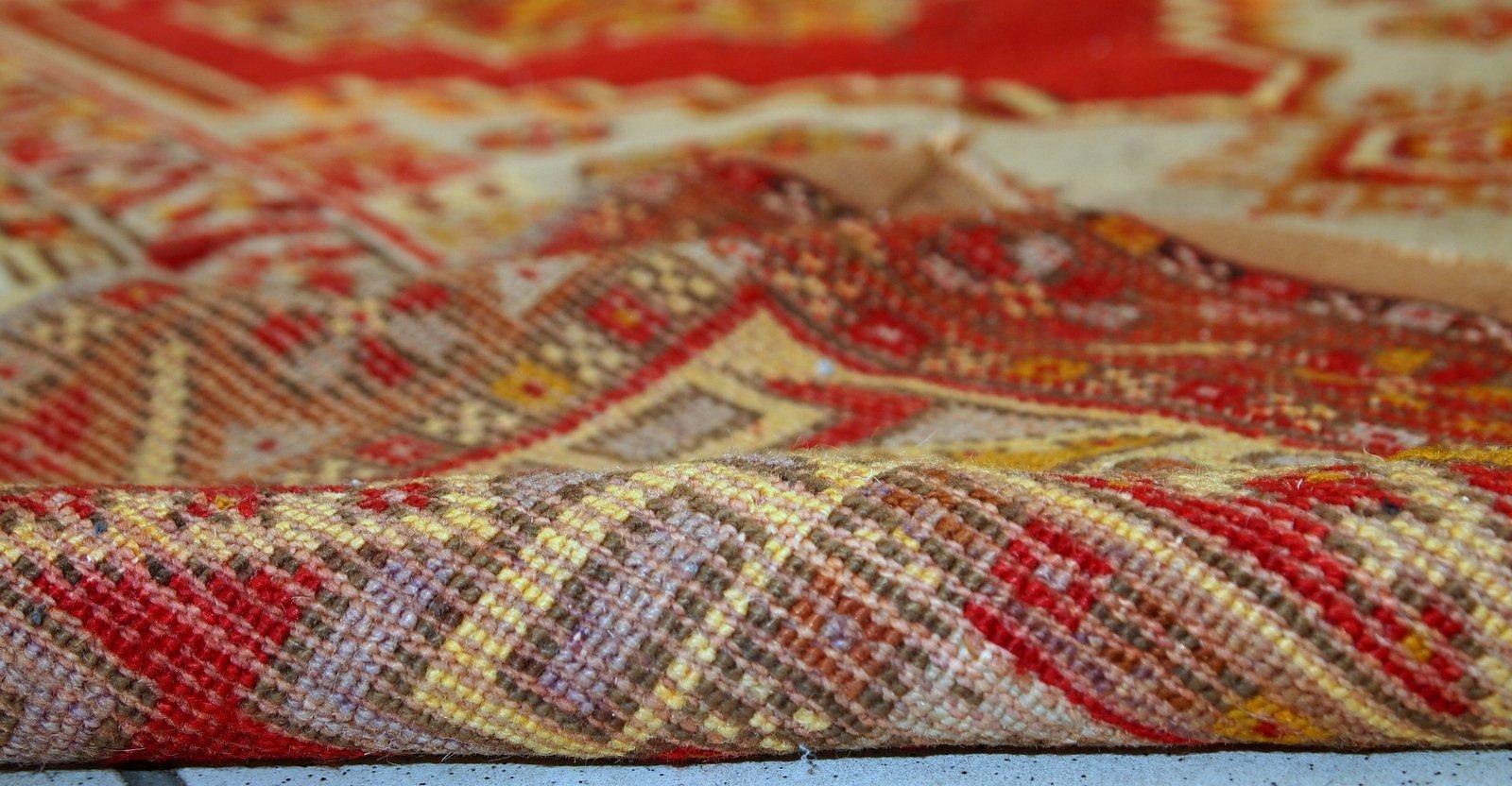 tapis anatolien antique fait la main turquie 1920s en vente sur pamono. Black Bedroom Furniture Sets. Home Design Ideas