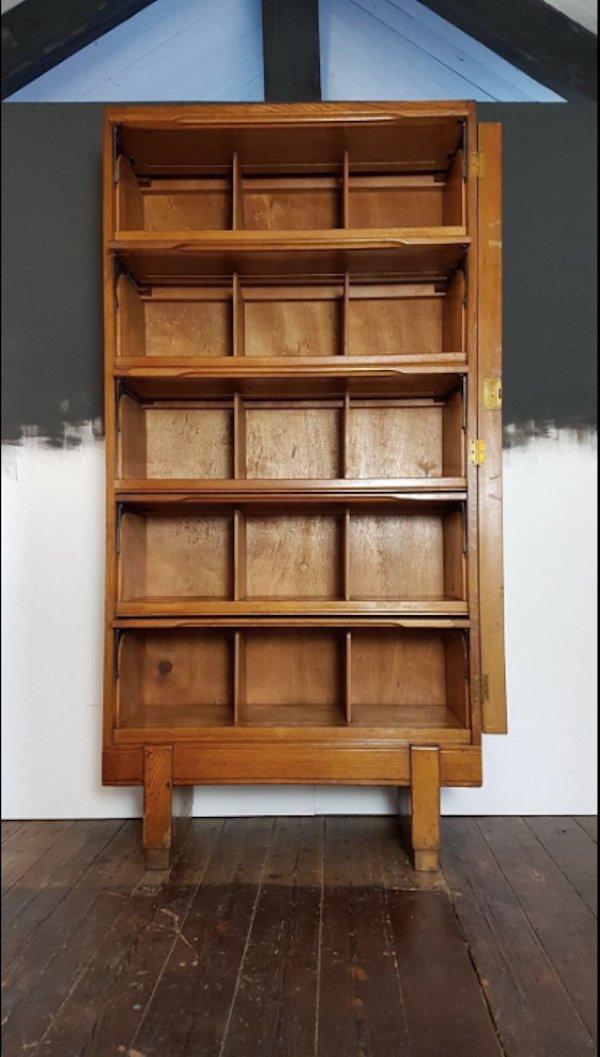 Staverton Haberdashery Pigeon Hole Cabinet, 1950s