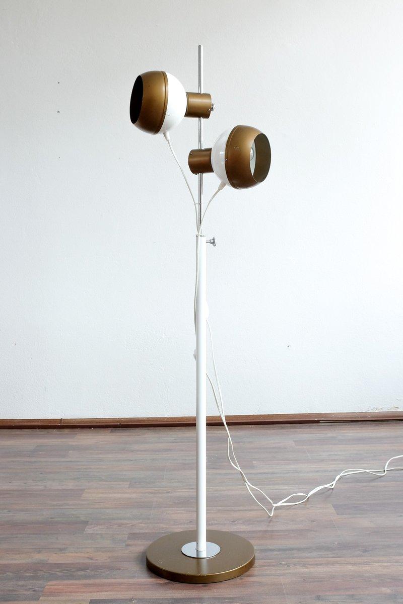 Magnetische Vintage Stehlampe von Drukov, 1970er