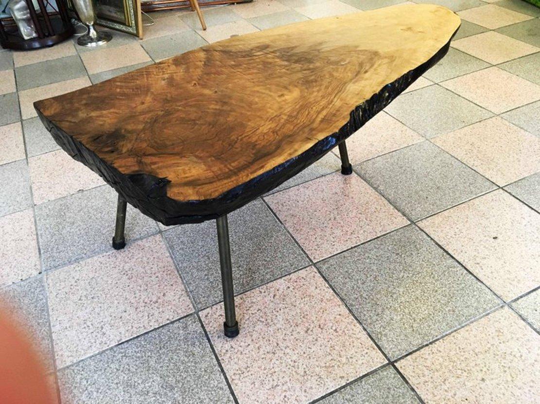 großer baum tisch von carl aubock, 1950er bei pamono kaufen