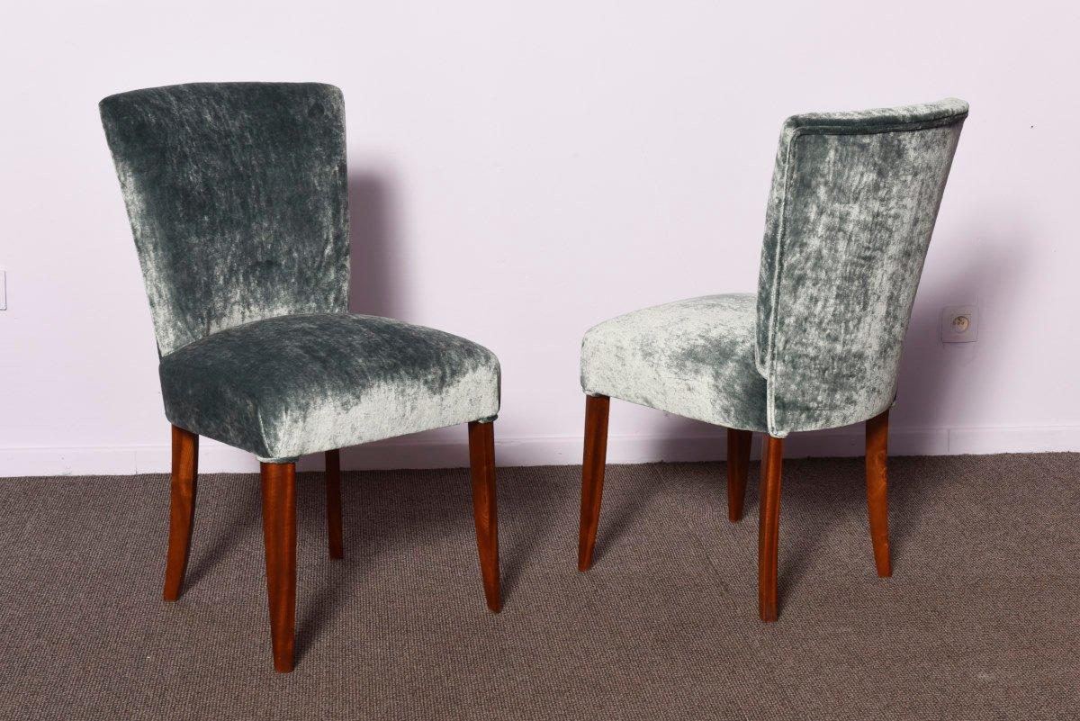 Sedie art deco anni 39 30 set di 3 in vendita su pamono for Sedie design anni 20