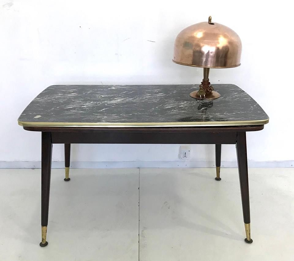 extendable coffee table 1950s for sale at pamono. Black Bedroom Furniture Sets. Home Design Ideas