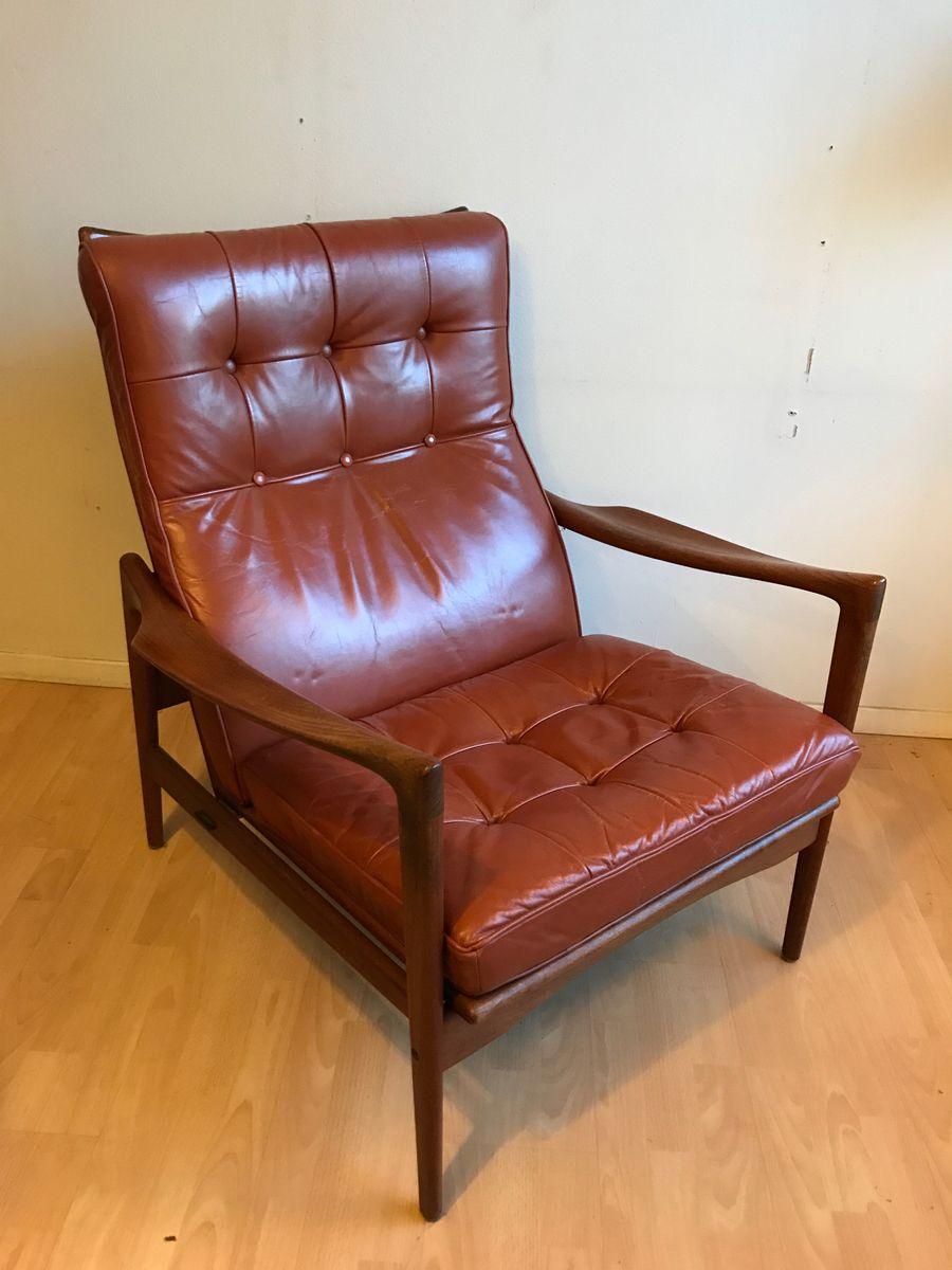 Örenäs Sessel von Ib Kofod-Larsen für OPE, 1950er