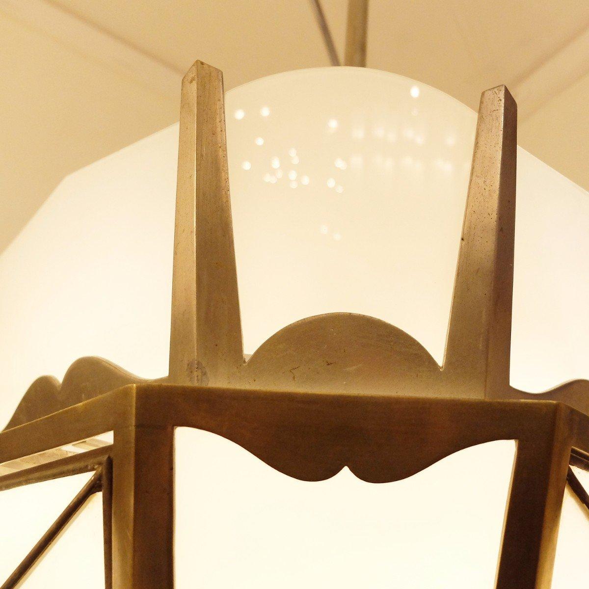 vintage art deco h ngelampe bei pamono kaufen. Black Bedroom Furniture Sets. Home Design Ideas