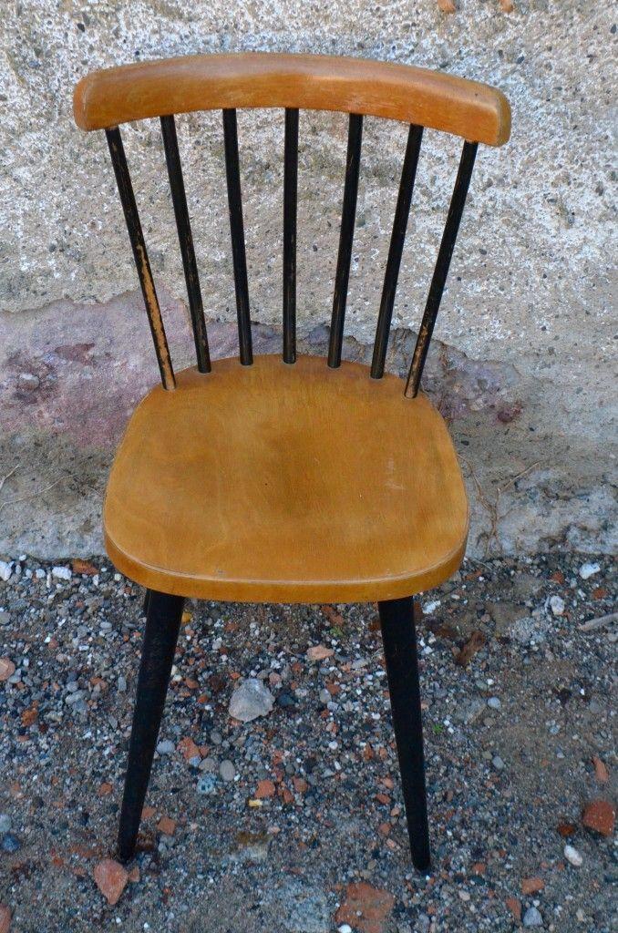 esszimmerst hle 1960er 6er set bei pamono kaufen. Black Bedroom Furniture Sets. Home Design Ideas