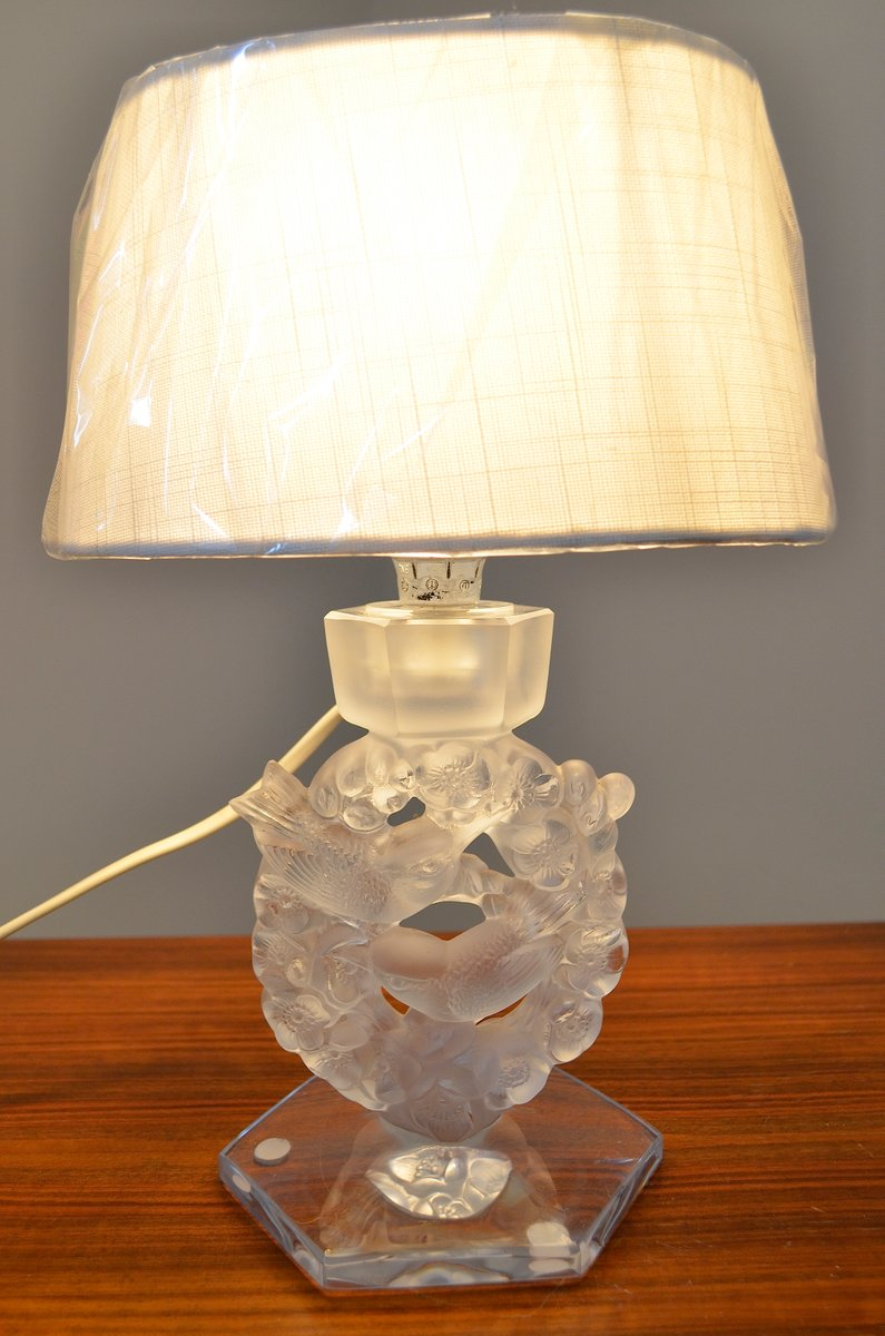 Vintage Table Lamp From Rene Lalique