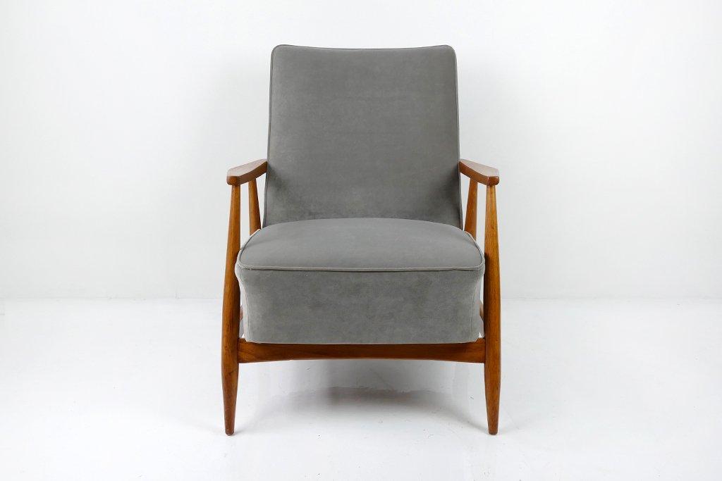 Grauer Sessel, 1960er