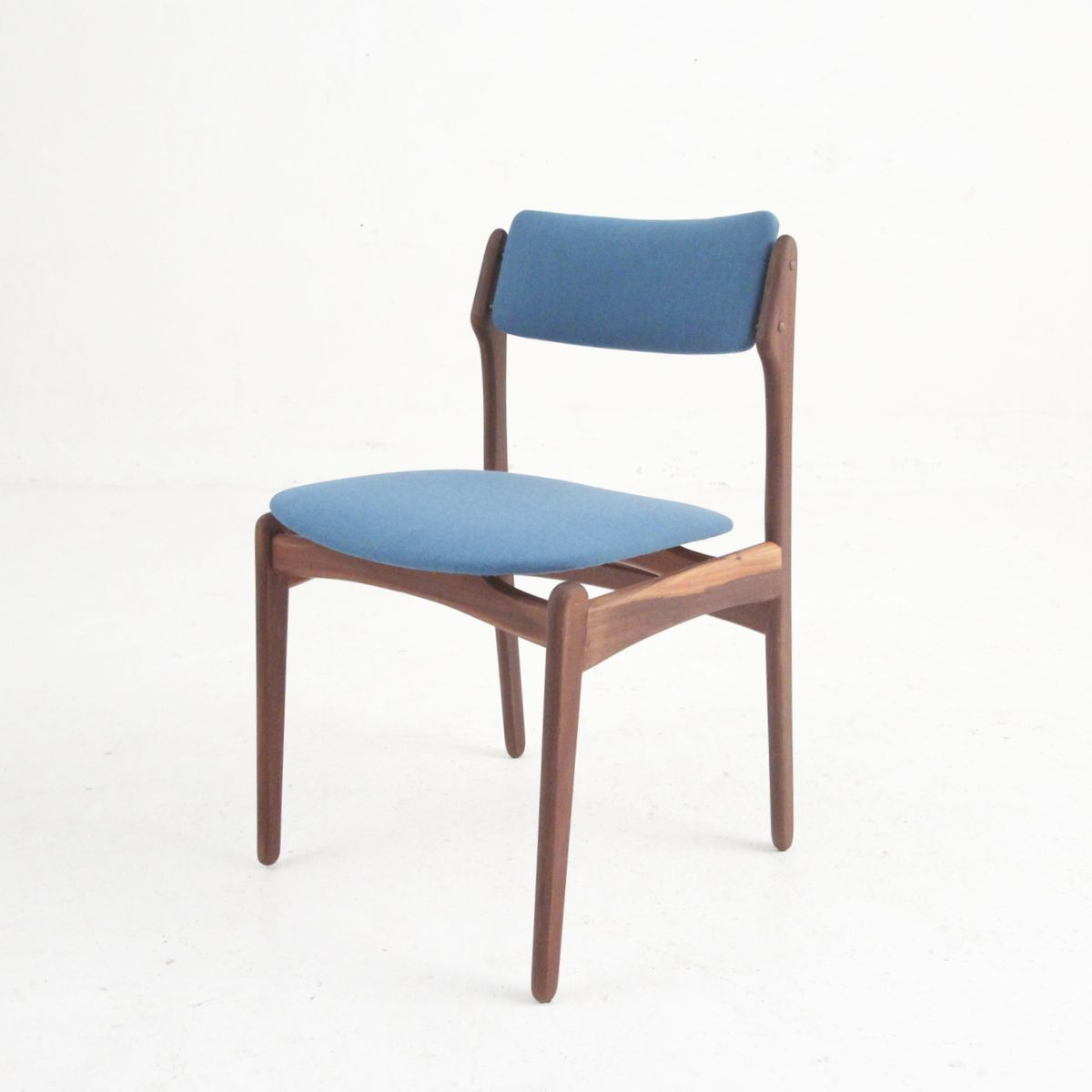Danish Modern Dining Chairs: Vintage Danish Modern Dining Chairs In Rosewood, Set Of 4
