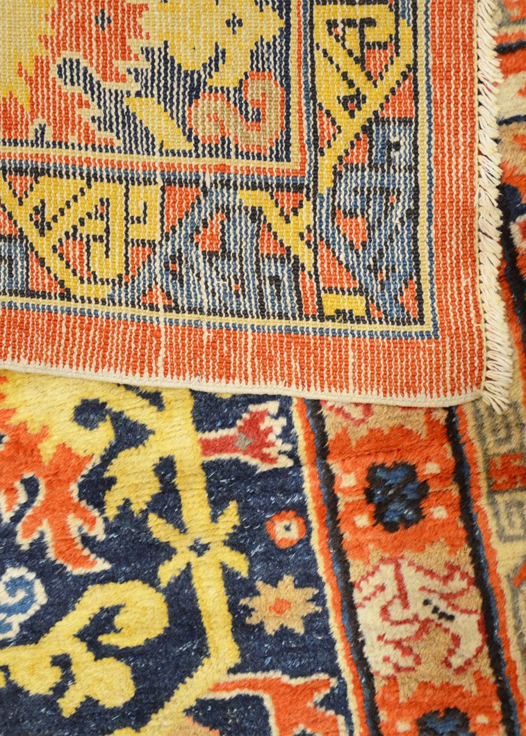 Antique Oushak Carpet 5 25 201 00 Price Per Piece