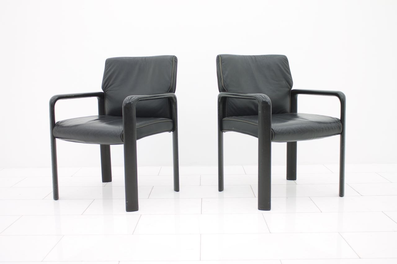 armlehnstuhl von wilkhahn 1980er bei pamono kaufen. Black Bedroom Furniture Sets. Home Design Ideas
