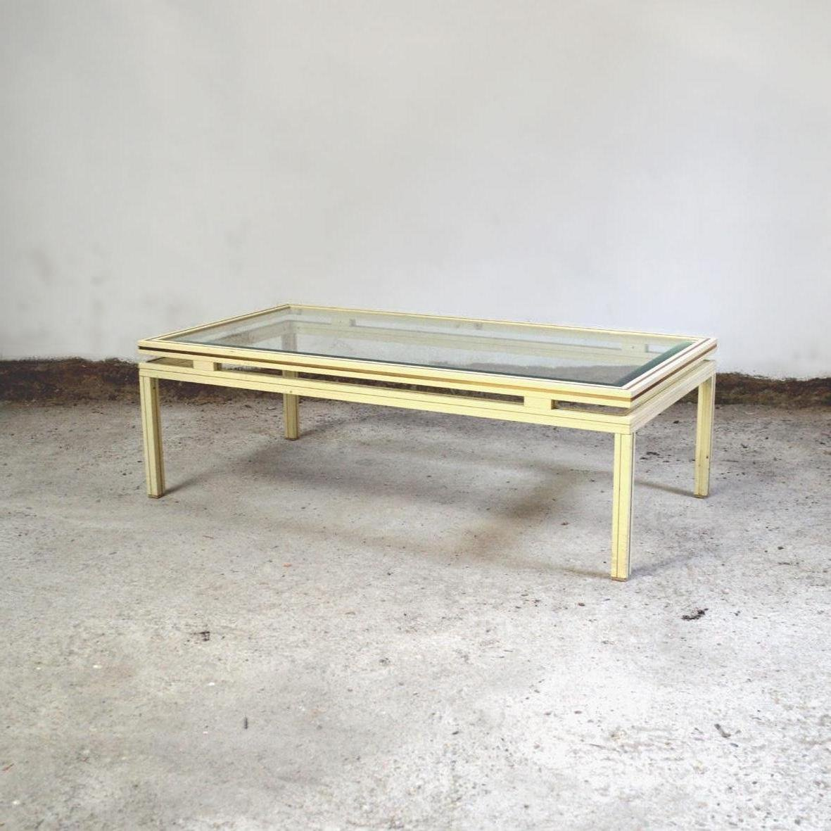 table basse par pierre vandel 1970s en vente sur pamono. Black Bedroom Furniture Sets. Home Design Ideas