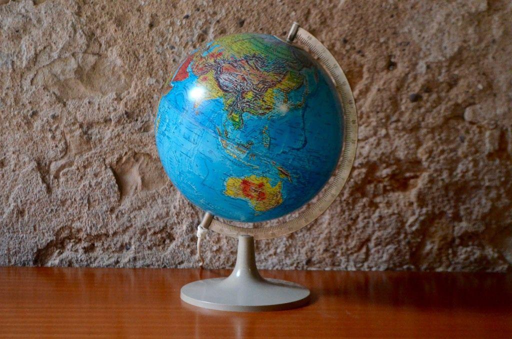 Vintage Globus von Scan Globe