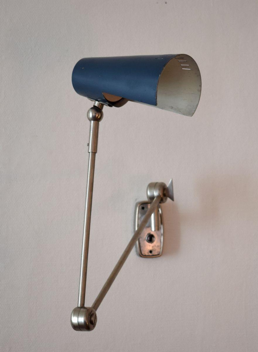 Verstellbare 2024 Wandlampe von Stilnovo, 1950er
